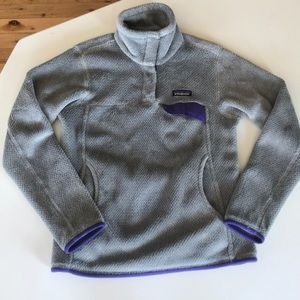 Women's re-tool snap pullover